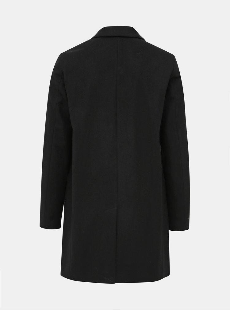 Černý vlněný kabát Selected Homme Brove