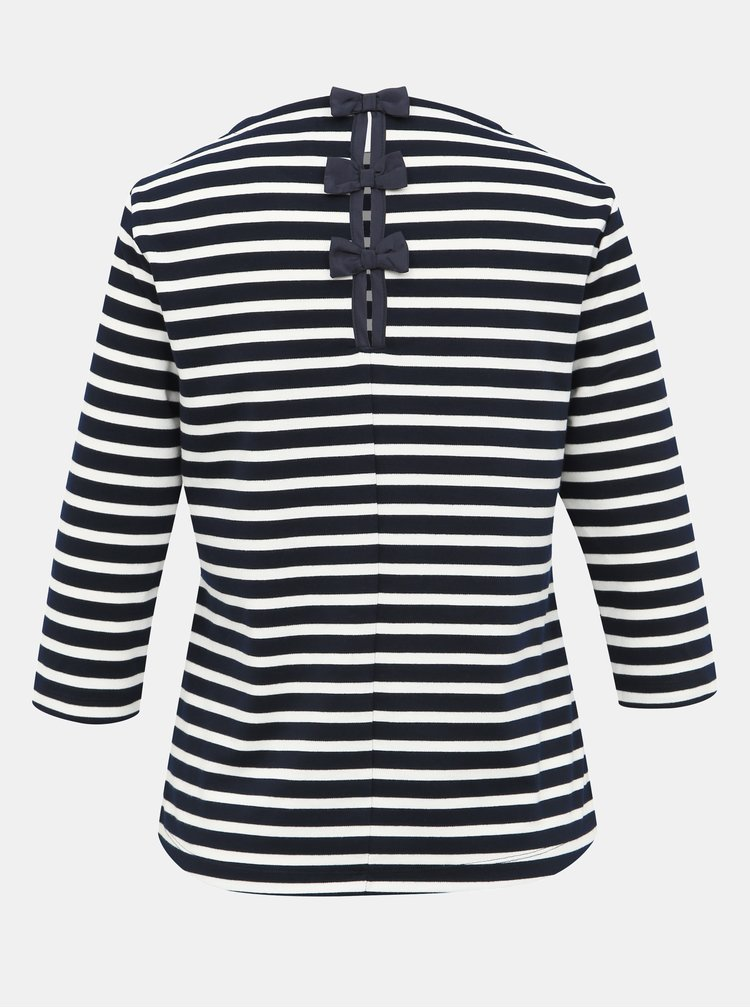 Modro-biele pruhované tričko ONLY Amanda