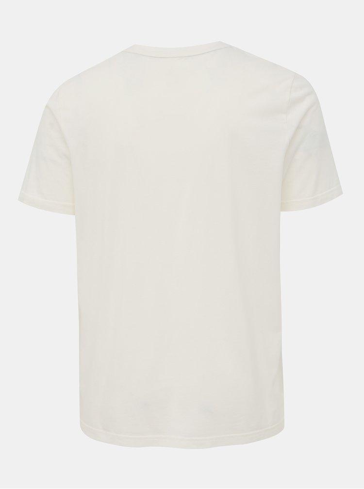Bílé pánské tričko s potiskem Maloja Frillux