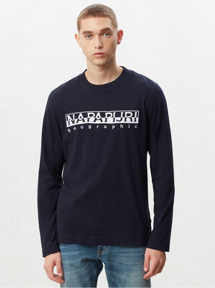 Tmavomodré pánske tričko NAPAPIJRI Serber