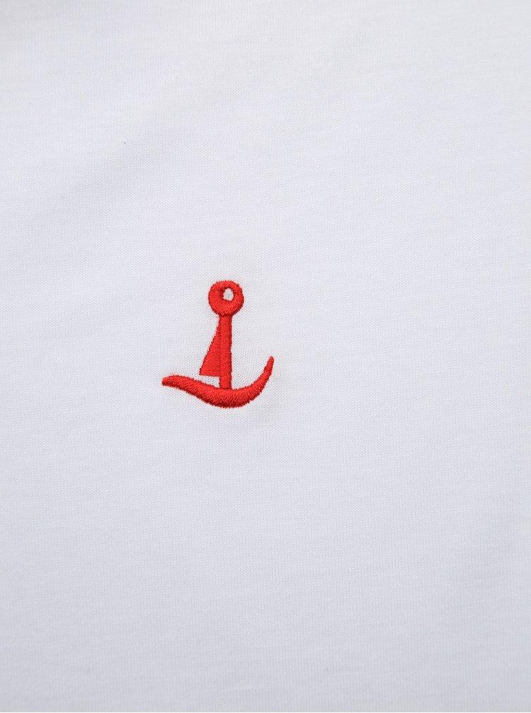 Bílé polo tričko Mr. Sailor