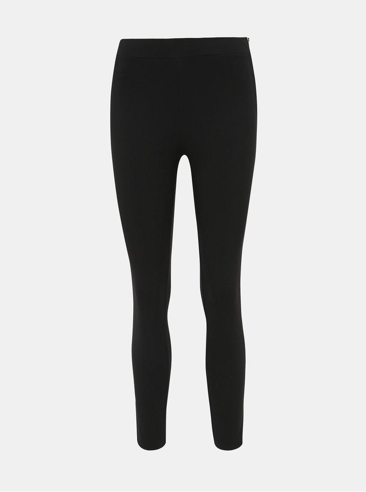 Čierne skrátené skinny fit nohavice Dorothy Perkins