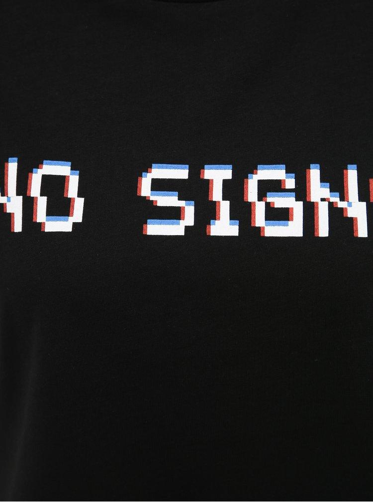 Černé tričko Noisy May Benet