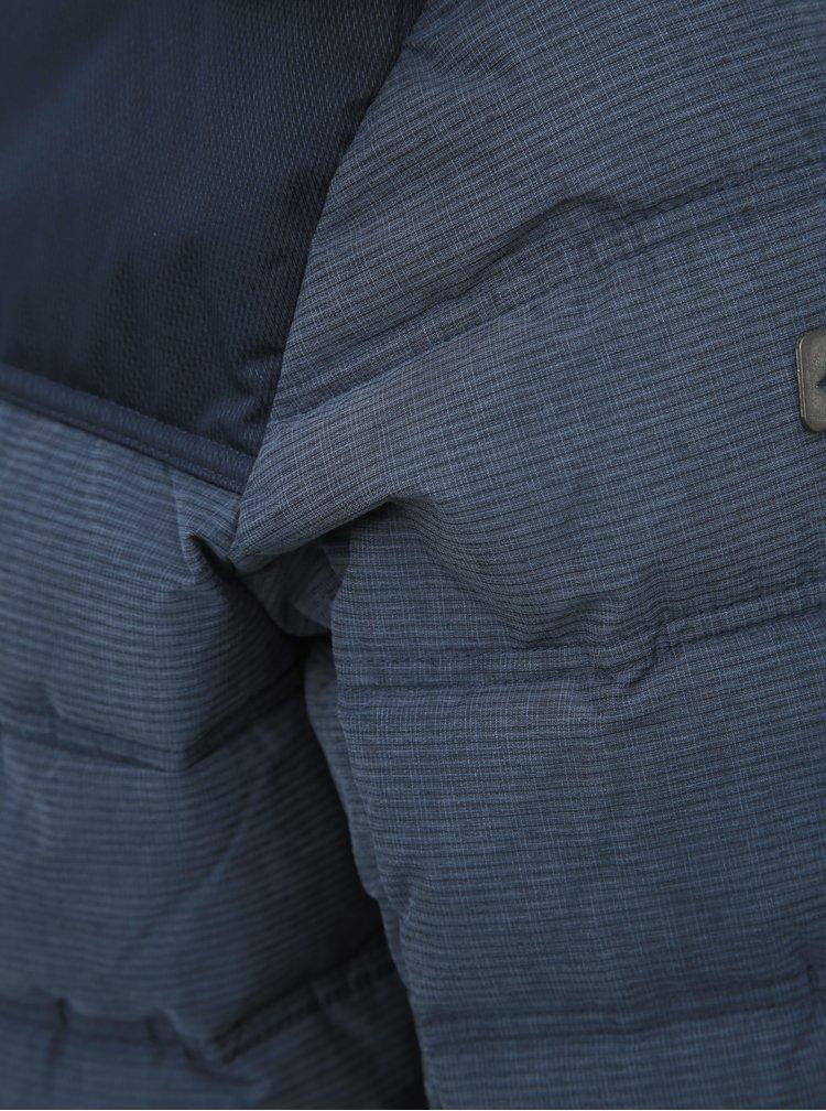 Tmavomodrá pánska prešívaná funkčná zimná bunda killtec Ninou
