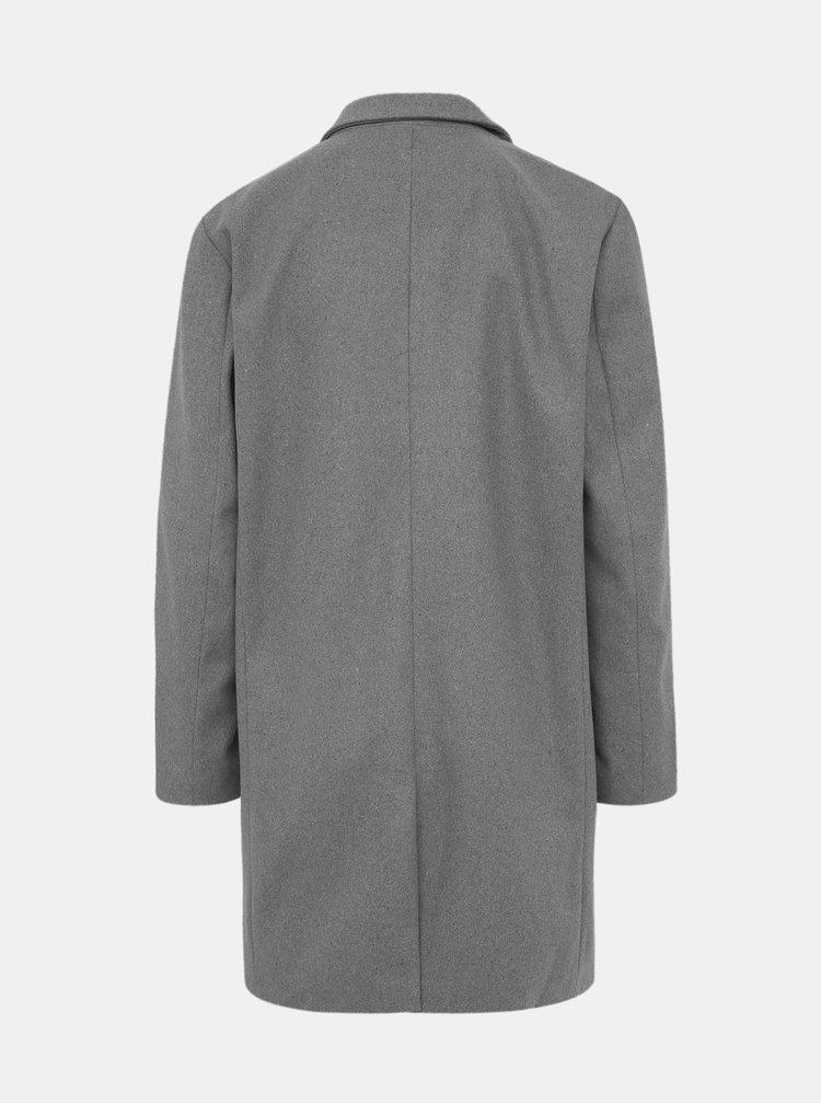 Šedý pánsky kabát ZOOT