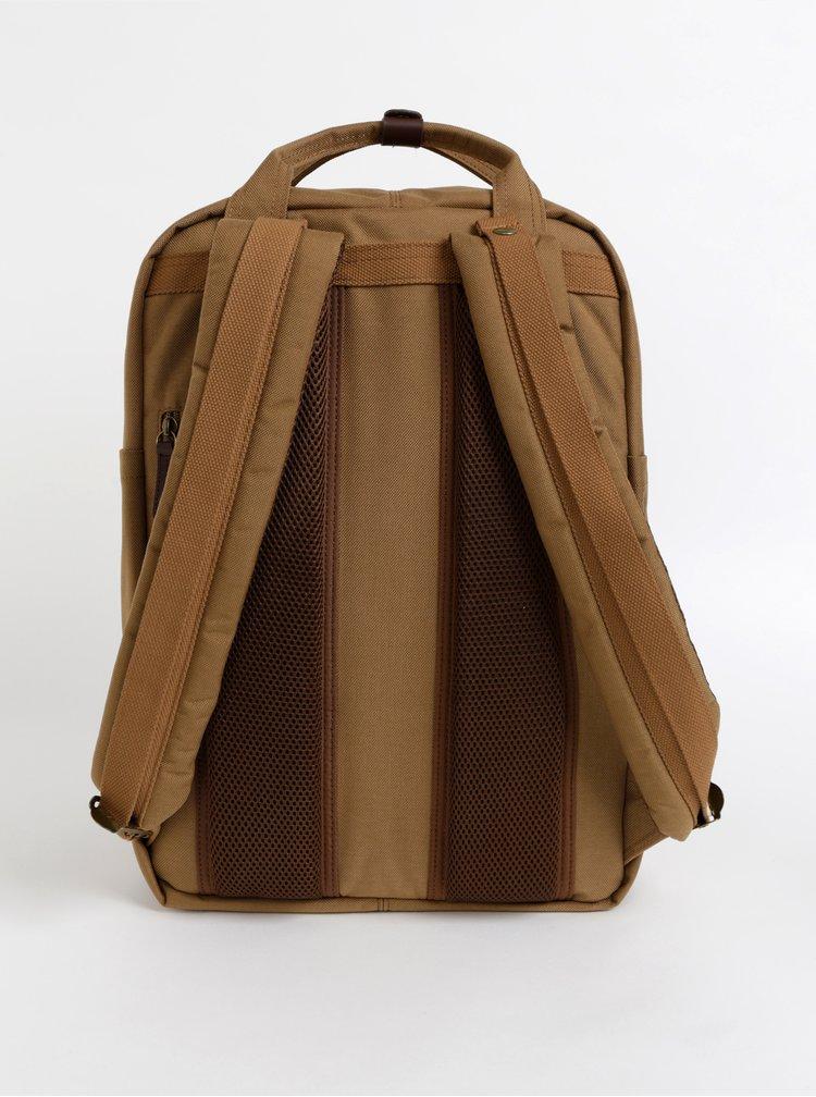 Hnědý voděodolný batoh Doughnut Macaroon 18 l