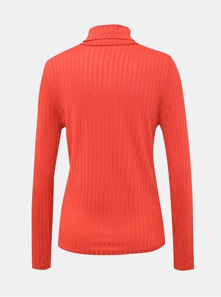Bluze pentru femei VILA - caramiziu