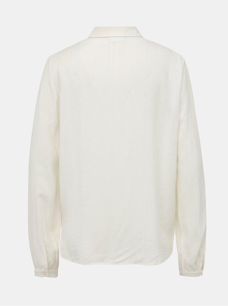 Biela košeľa VILA Toran