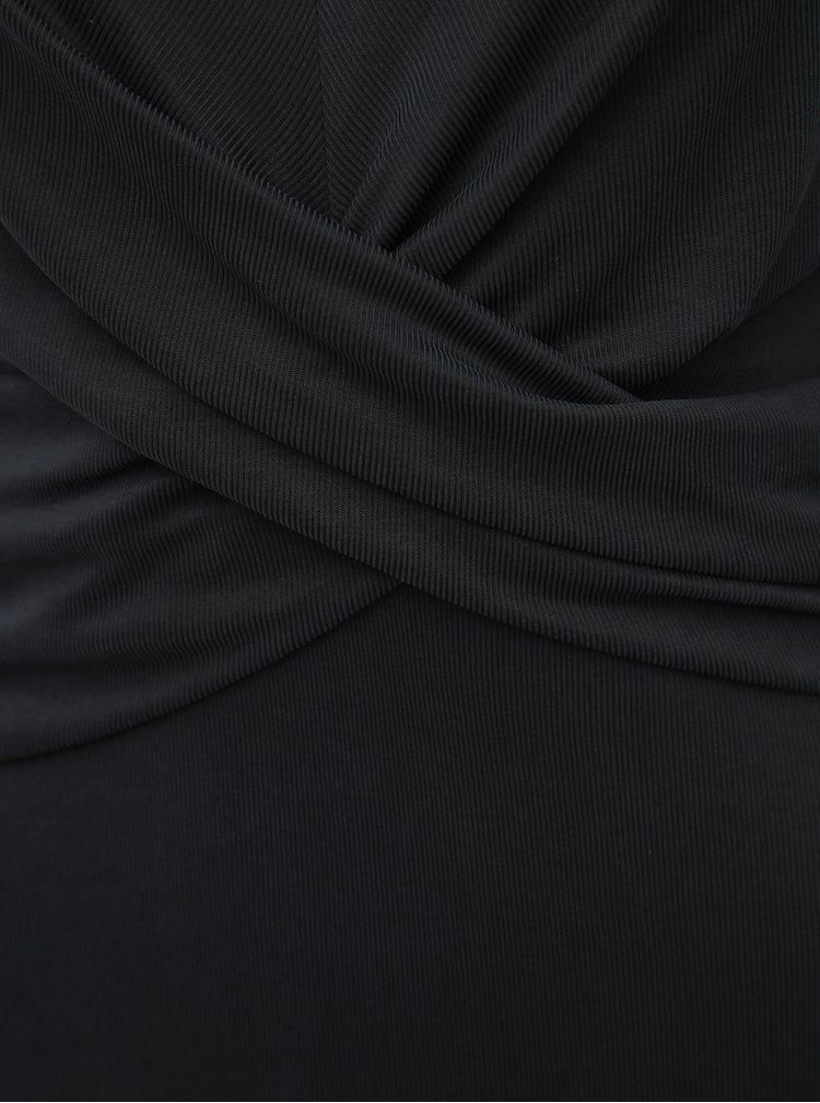 Černé midišaty VILA Eloisa