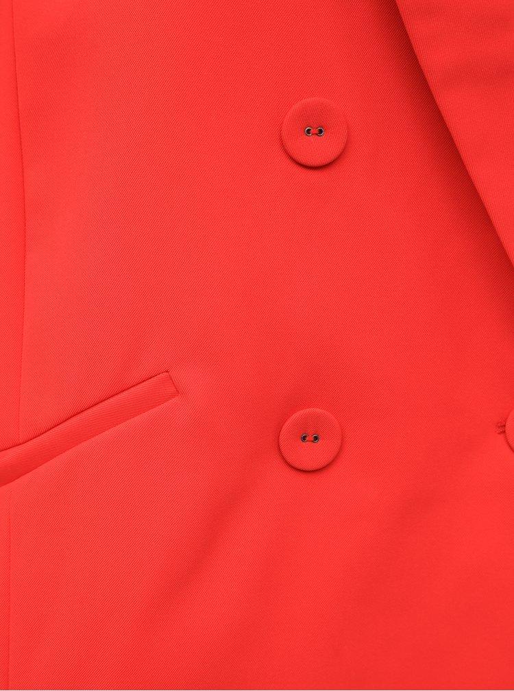 Červené sako VILA Somia