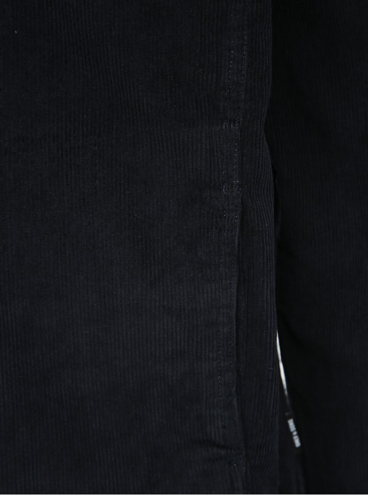 Tmavomodrá menčestrová ľahká bunda ONLY & SONS Leo