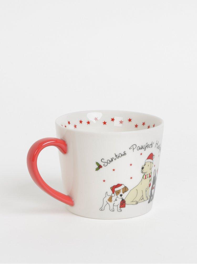 Krémový hrnek s vánočním motivem Cooksmart