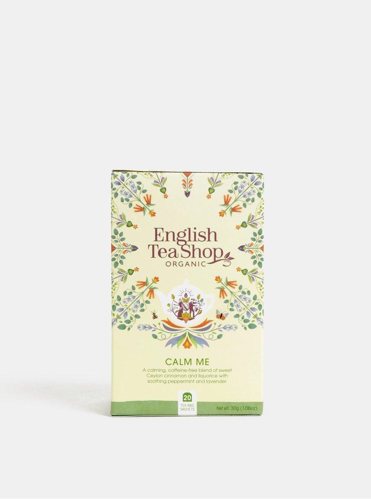 Organický bylinný čaj se skořicí, mátou peprnou, lékořicí a levandulí English Tea Shop Zklidňující