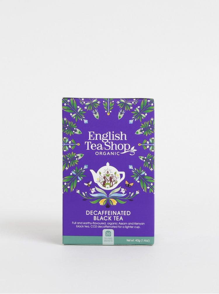 Organický černý čaj bez kofeinu English Tea Shop Super