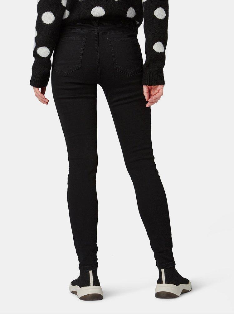 Černé dámské extra skinny džíny Tom Tailor Denim Nela