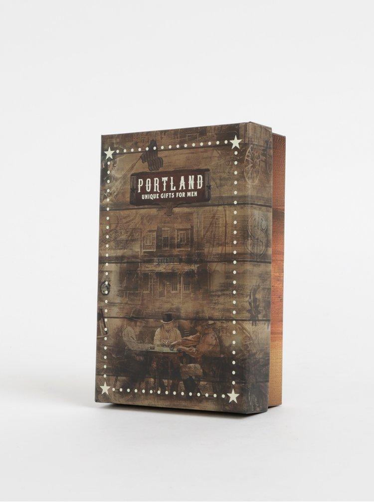 Sada na úpravu vousů a nehtů Portland