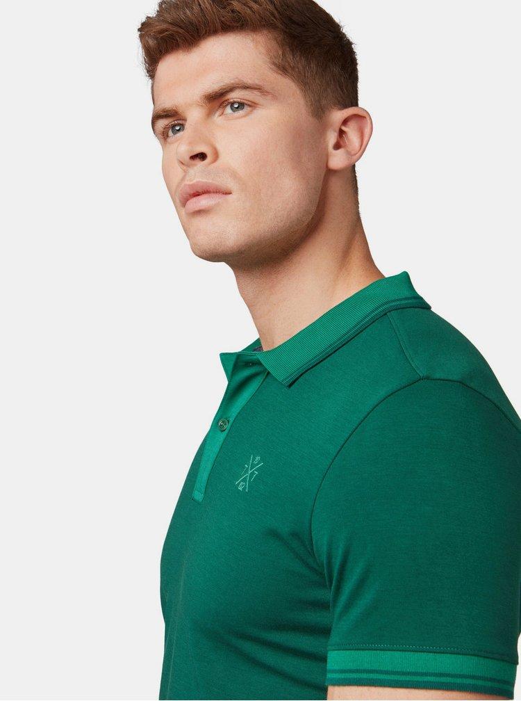 Zelené pánské polo tričko Tom Tailor