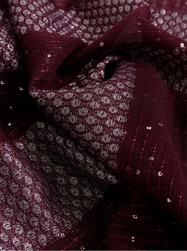 Vínový šátek Something Special