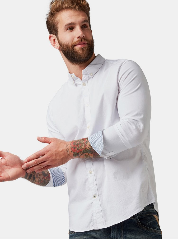 Biela pánska košeľa Tom Tailor