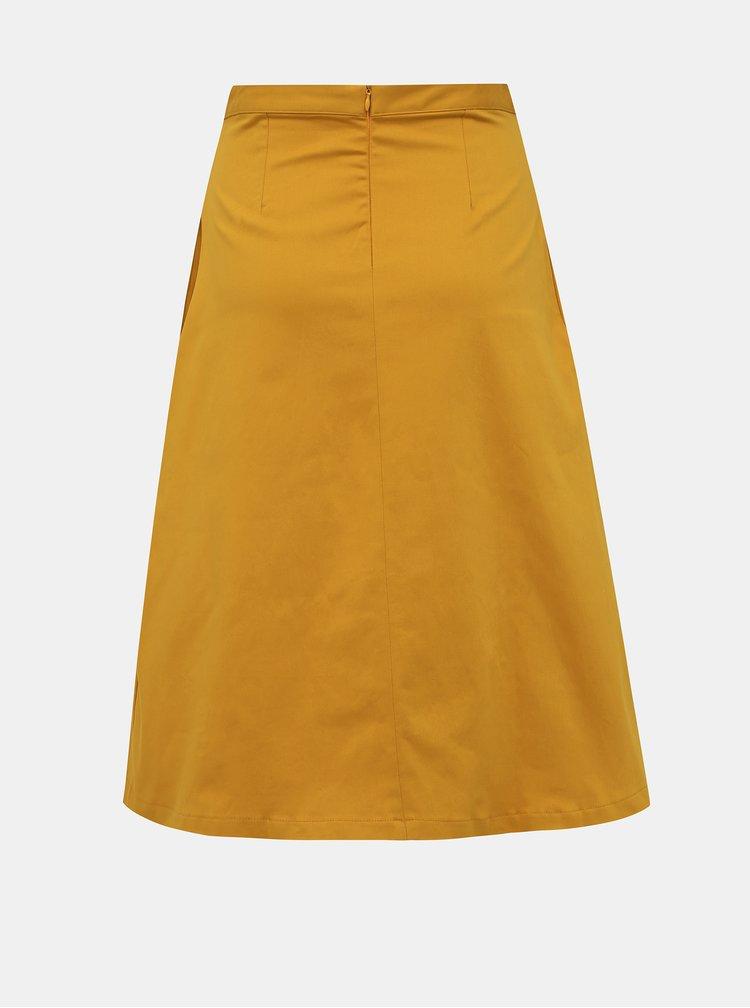 Hořčicová sukně ZOOT Kinga