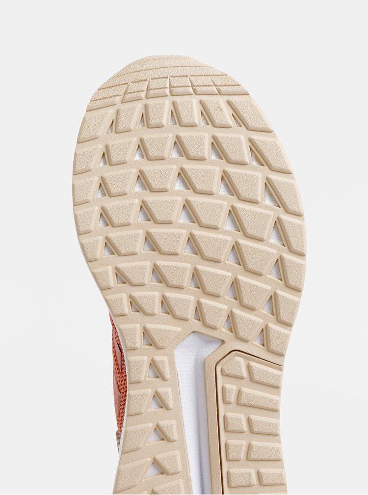 Starorůžové dámské tenisky adidas CORE