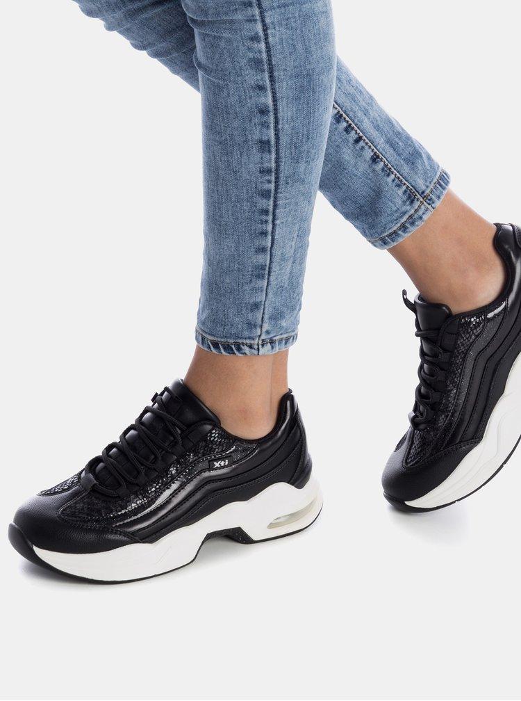 Čierne dámske tenisky Xti