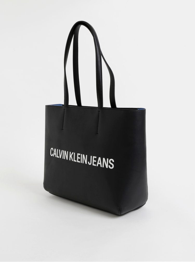 Černá kabelka Calvin Klein Jeans