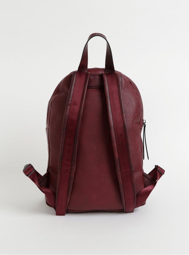 Vínový dámský batoh Xti