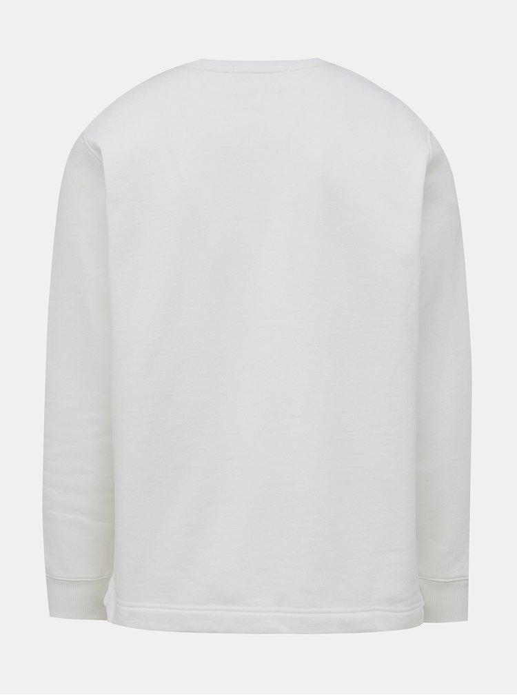 Bílá pánská mikina s potiskem Calvin Klein Jeans