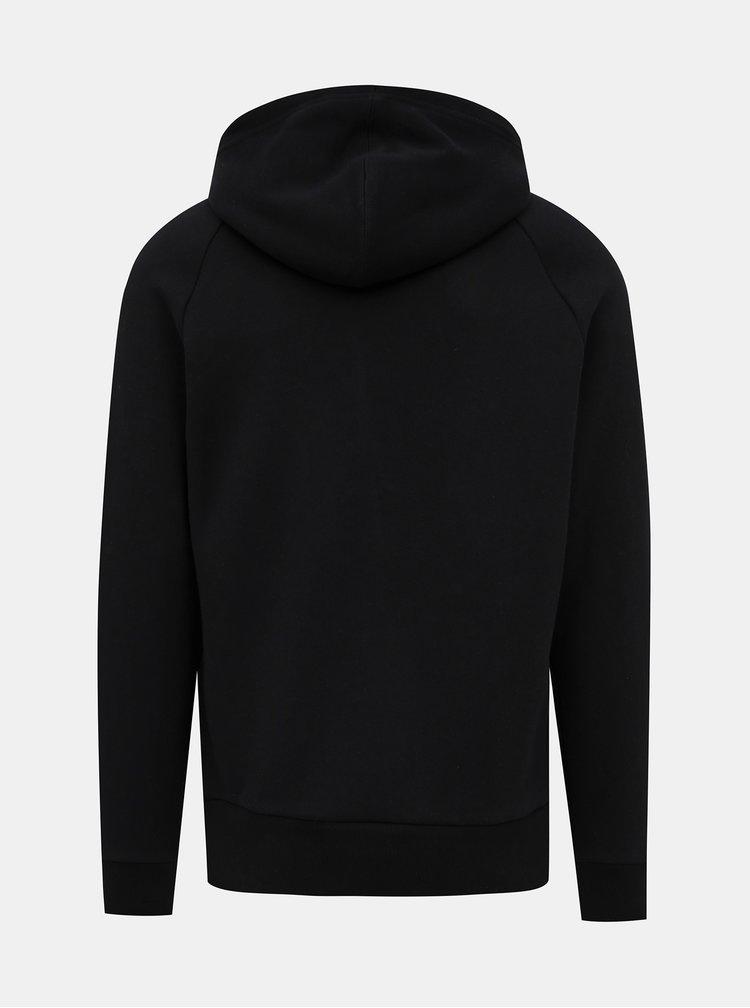 Černá pánská mikina s nášivkou Calvin Klein Jeans