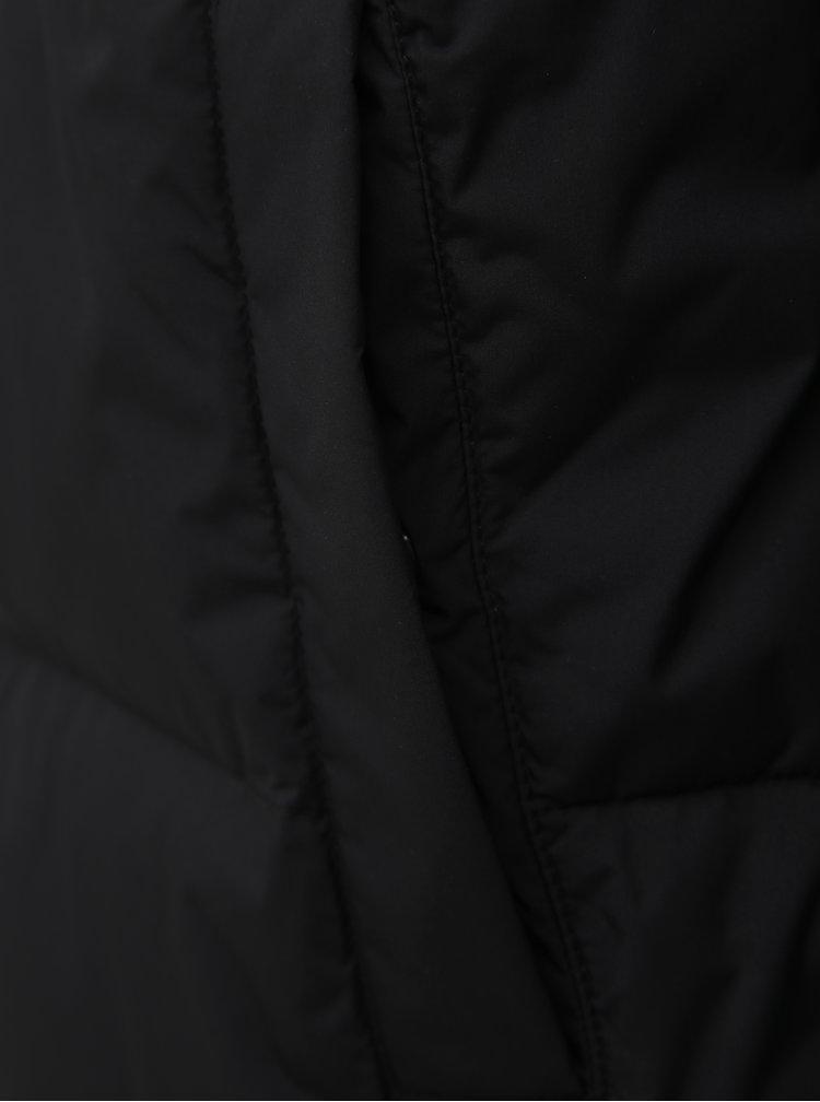 Čierna pánska prešívaná zimná bunda Calvin Klein Jeans