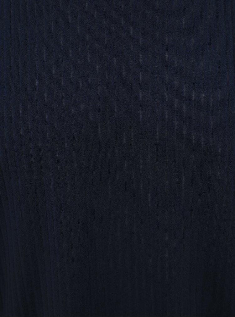 Tmavě modré pánské dvoudílné pyžamo M&Co