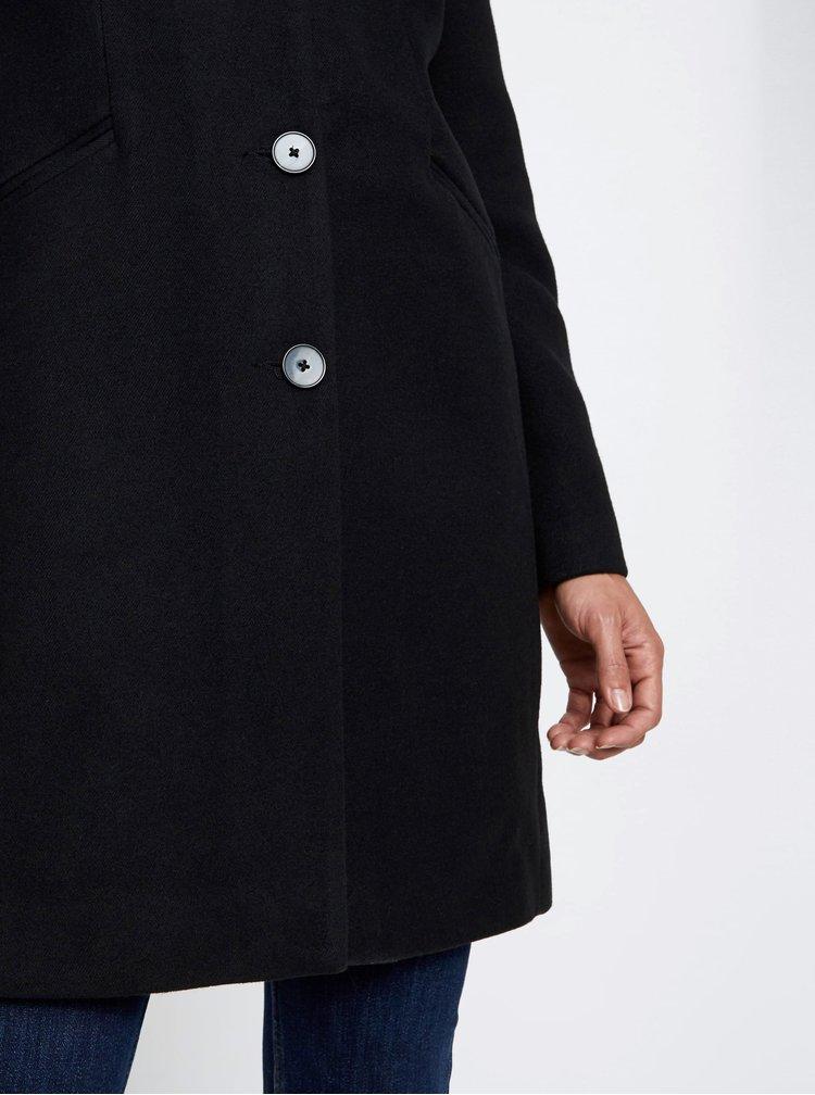 Čierny kabát VERO MODA Cala