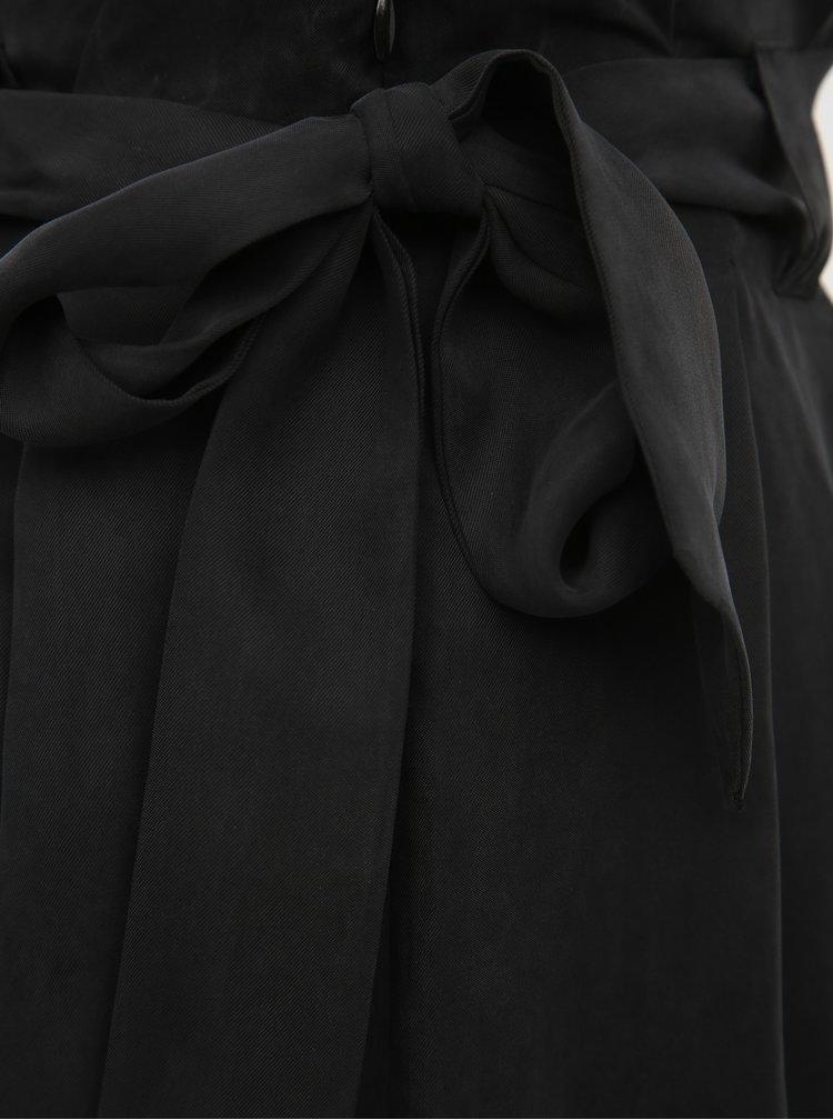 Čierna midi sukňa Selected Femme Fruth
