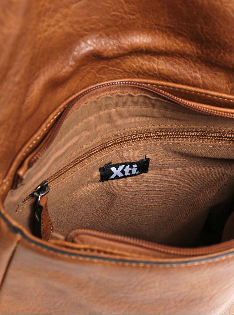 Hnedá crossbody kabelka Xti