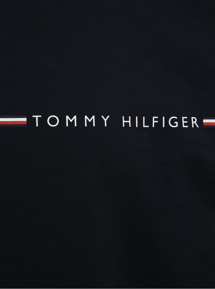 Tmavě modré pánské tričko Tommy Hilfiger