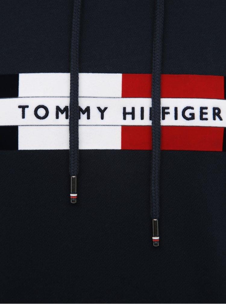 Tmavomodrá pánska mikina Tommy Hilfiger