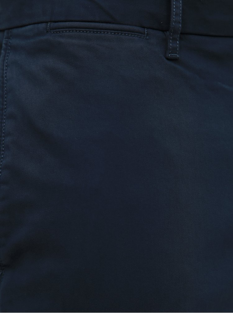 Tmavomodré pánske chino nohavice Tommy Hilfiger