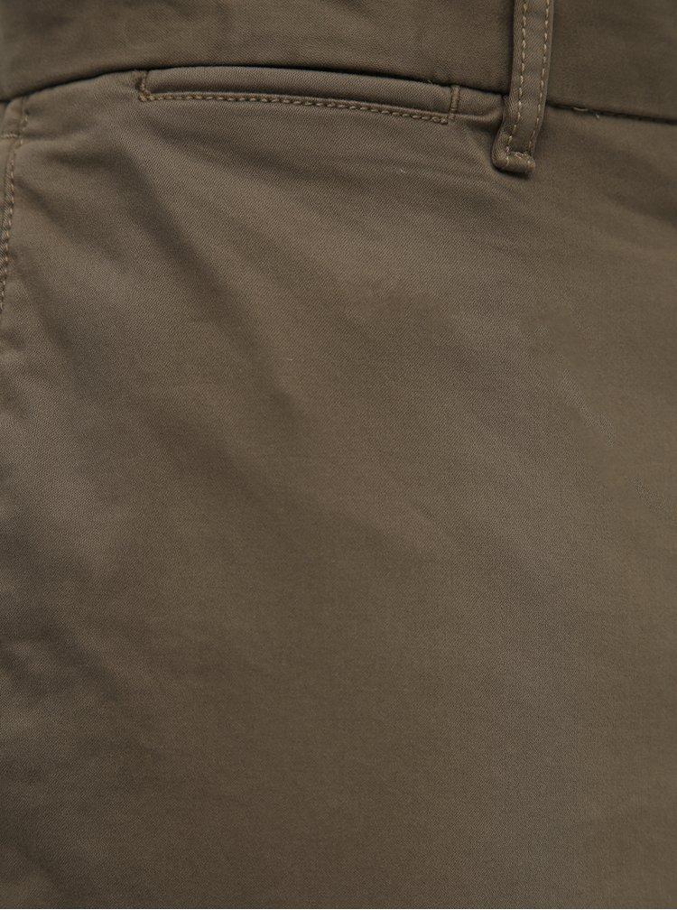 Hnědé pánské chino kalhoty Tommy Hilfiger