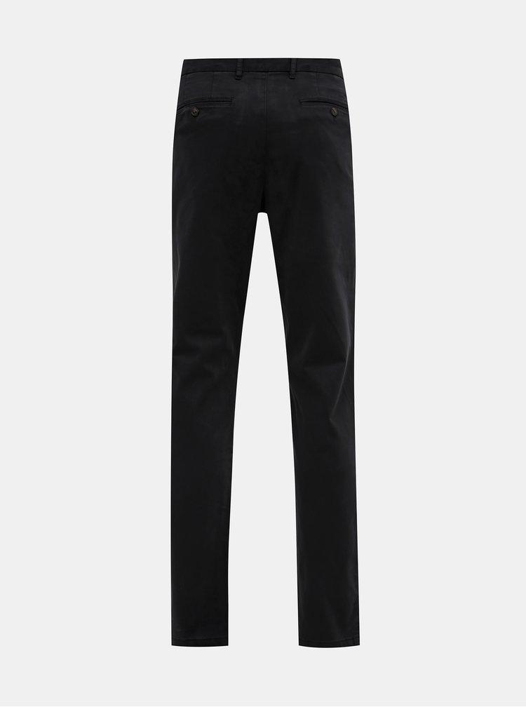 Čierne pánske chino nohavice Tommy Hilfiger