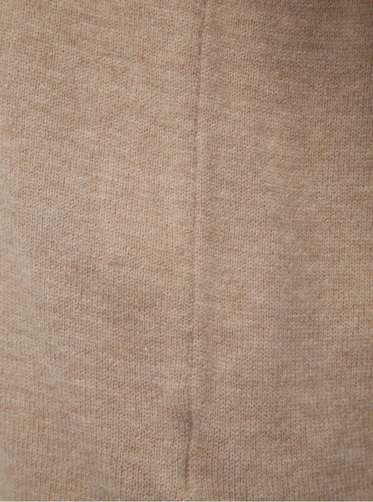 Béžový basic sveter Jacqueline de Yong Marco
