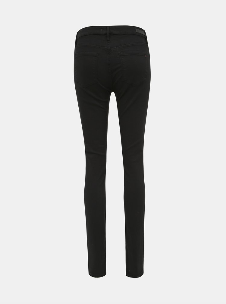 Černé dámské skinny fit džíny Tommy Hilfiger Elisa