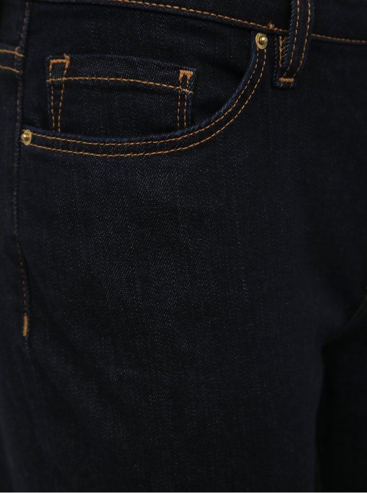 Tmavě modré dámské straight fit džíny Tommy Hilfiger Chrissy