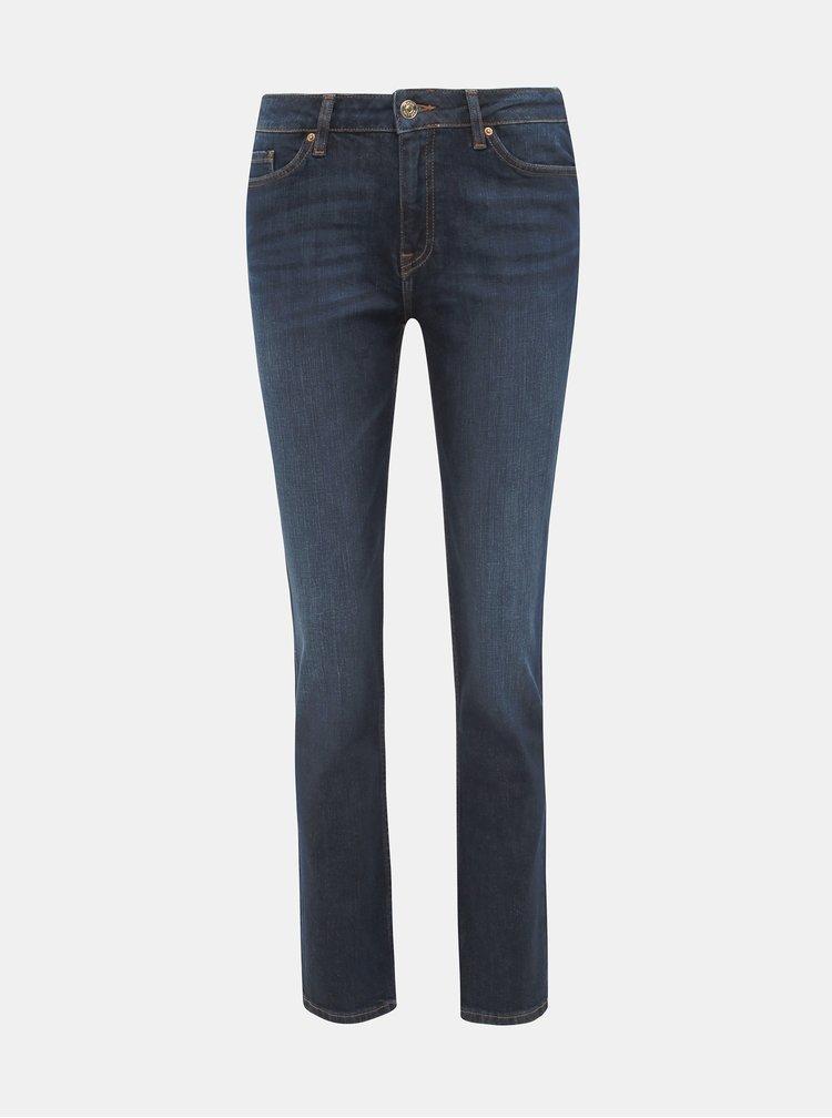 Tmavě modré dámské straight fit džíny Tommy Hilfiger Rome