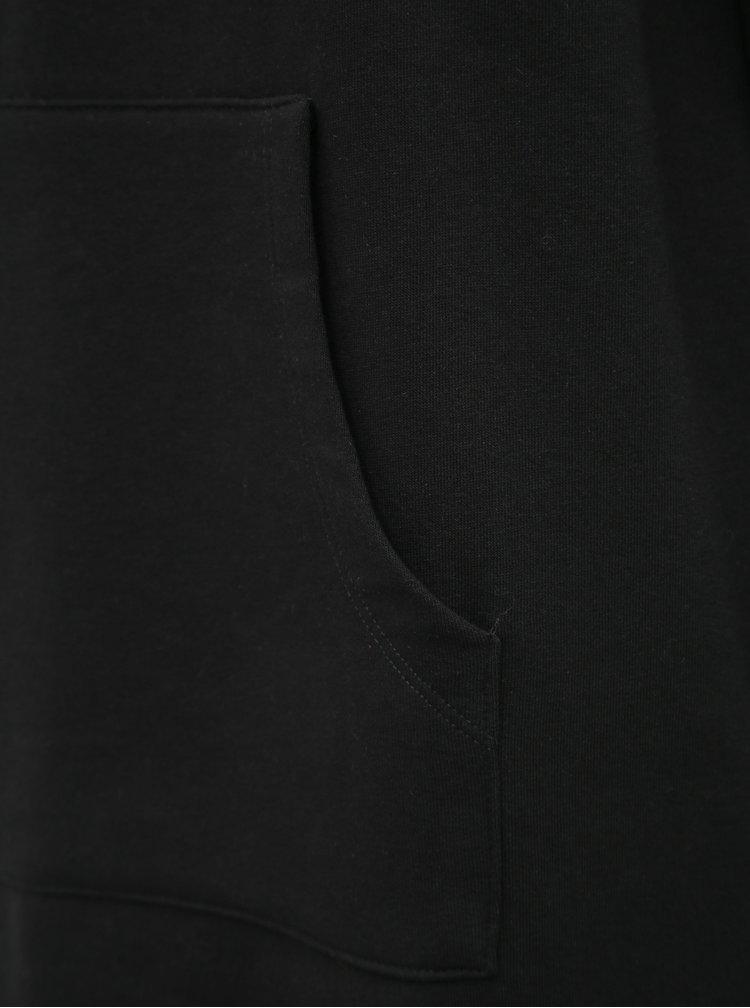 Čierne mikinové šaty ONLY Kane