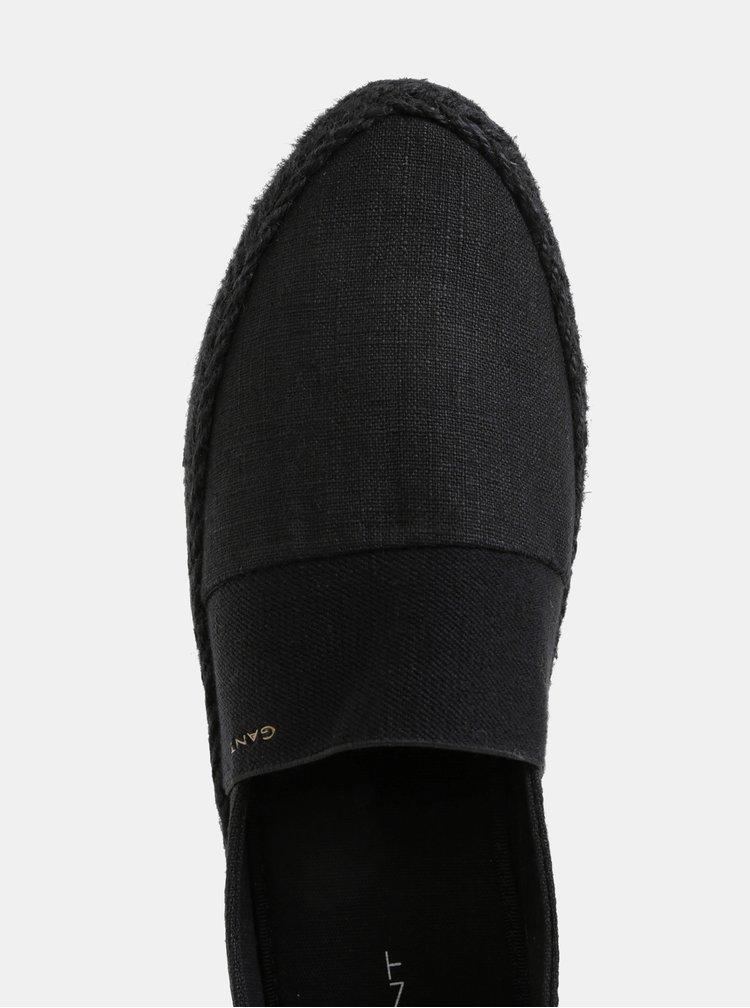 Černé dámské espadrilky Gant