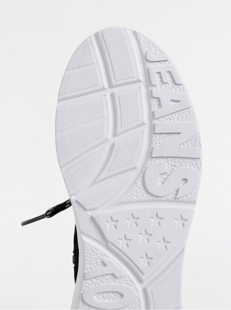 Černé dámské sněhule se semišovými detaily Tommy Hilfiger Hybrid