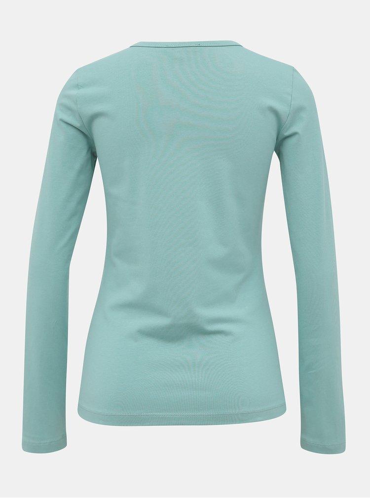 Světle zelené basic tričko Yest