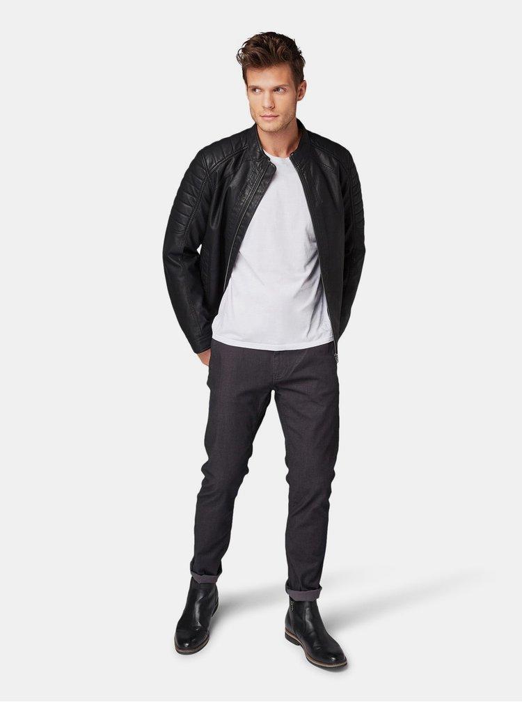 Tmavomodré pánske chino nohavice Tom Tailor