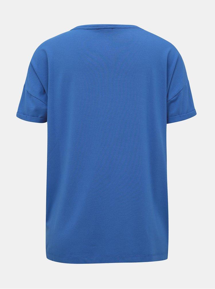 Modré tričko s lampasem Yest